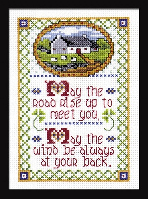 Design Works 9766 Celtic blessing