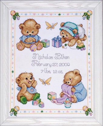 Design Works T21711 Baby bears