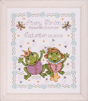 Design Works T21724 Froggie fun