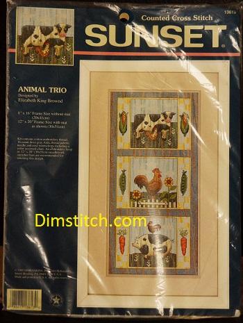 Sunset 13613 Animal Trio