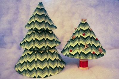 The Needle's Notions Bargello Trees