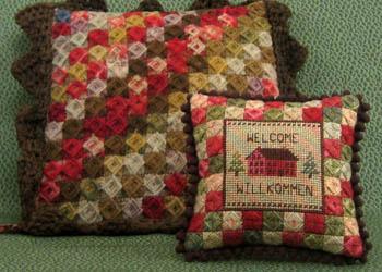 The Needle's Notion Willkommen Pin Cushion