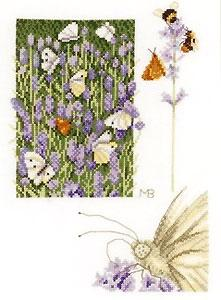 Lanarte PN146979 Lavender Field with Butterfly