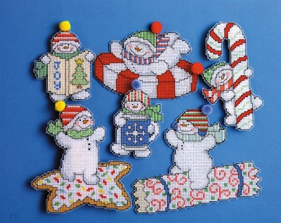 Design Works 1669 Sweetie snowmen