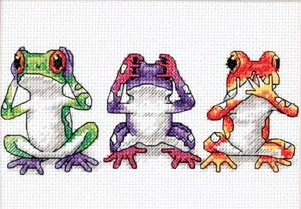 Dimensions 16758 Tree frog Trio