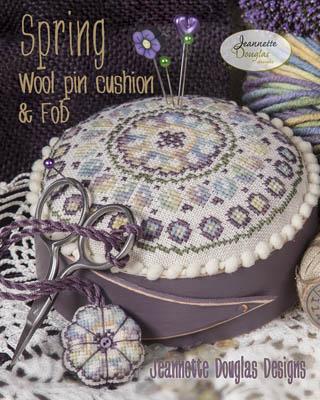 Jeannette Douglas Designs Spring pincushion