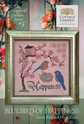 Cottage Garden Samplings Bluebird of Happiness