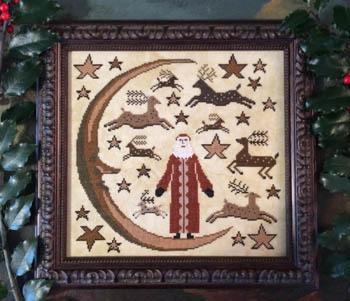 Kathy Barrick Deer Santa