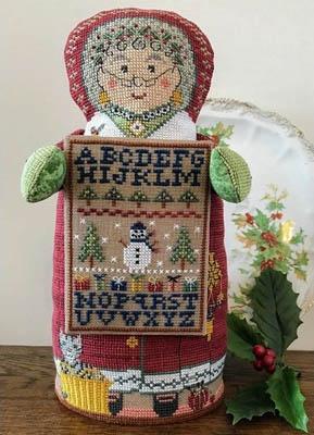 The Needle's Notions Mrs Santa's Sampler