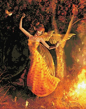 Kustom Krafts 2002 Fire dance Fairy
