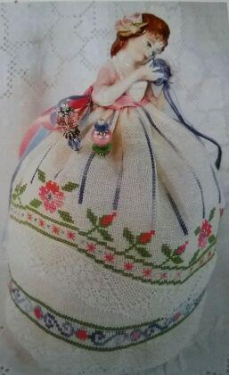 Puncushion Doll Lucia – A Little Girl