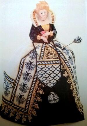 Puncushion Doll Sara – A Deruta Renaissance