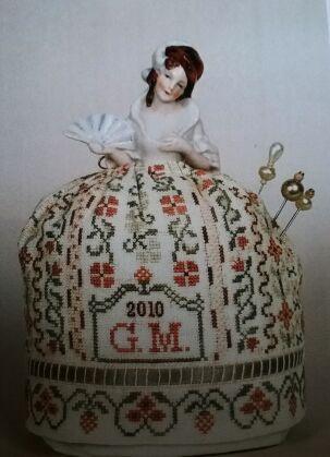 Puncushion Doll A Flapper Doll