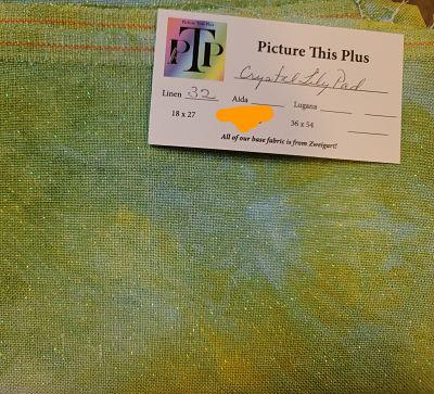 PTP Crystal Lily Pad, 32 ct, 45 x 65