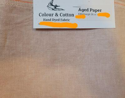 Colour & Cotton Aged Paper, 36ct