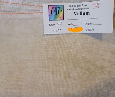 PTP Vellum, 40 ct, 45 x 65