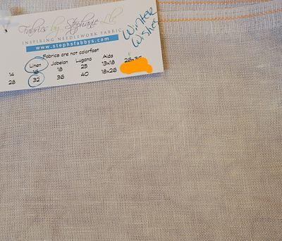 Fabrics by Stephanie Winter Wishes 32ct