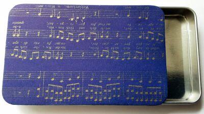 Music needle box