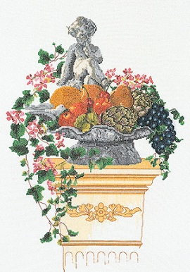 Thea Gouverneur GOK2026 Statue In Fruits & Vegetables