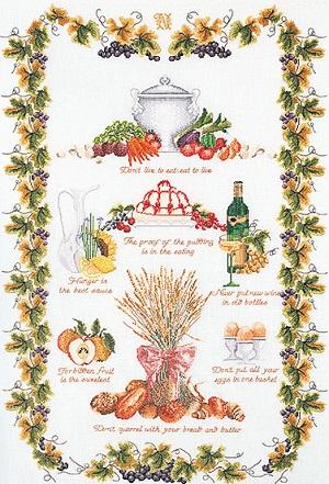 Thea Gouverneur GOK2027 Kitchen sampler