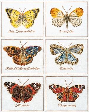Thea Gouverneur GOK2037 Butterflies