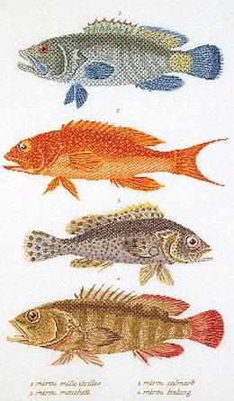 Thea Gouverneur GOK2044 Fish panel