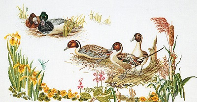 Thea Gouverneur GOK2064 Ducks in the march
