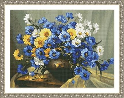 Kustom Krafts 2071 Bouquet of Blue