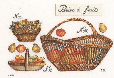 Thea Gouverneur GOK2099 Fruit baskets