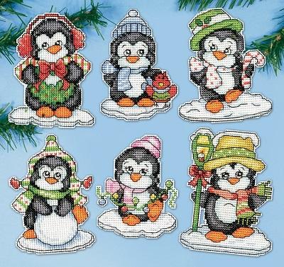Design Works 2286 Penguins on ice