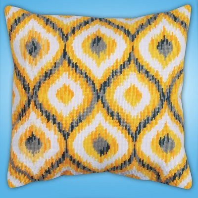 Design Works 2558 Yellow Ikat