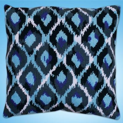 Design Works 2562 Blue Ikat