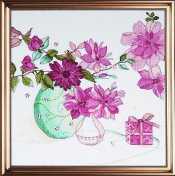 Design Works 2769 Pastel floral