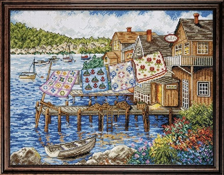 Design Works 2780 Dockside Quilts