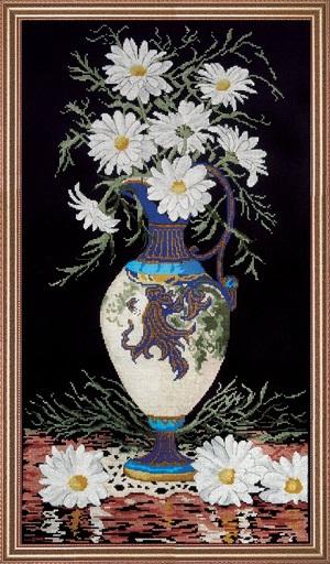 Design Works 2782 Daisies in vase