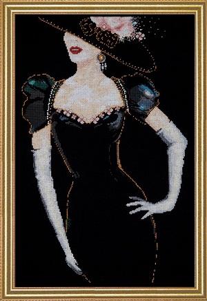 Design Works 2783 Lady in Black
