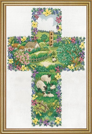 Design Works 2836 Pastoral Cross