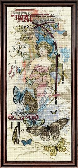 Design Works 2842 Classical Butterflies