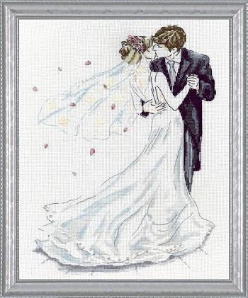 Design Works 2844 Wedding couple