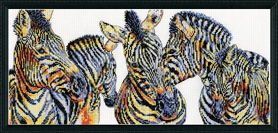 Design Works 2853 Wild things zebras
