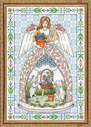 Design Works 2859 Kitty angel