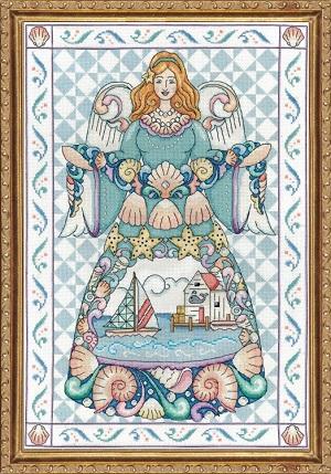 Design Works 2861 Seashell angel