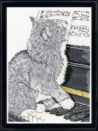 Design Works 2910 Piano cat