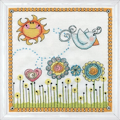 Design Works 2914 Fly away Birdie