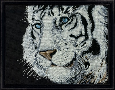 Design Works 2918 White tiger