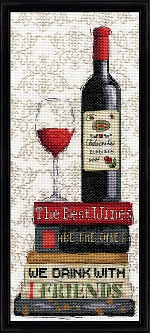 Design Works 2982 Red wine