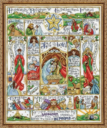 Design Works 2994 Nativity story