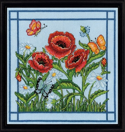 Design Works 2995 Poppies