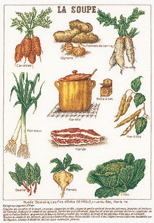 Thea Gouverneur GOK3027 Soup vegetables