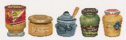 Thea Gouverneur GOK3046 Mustard pots